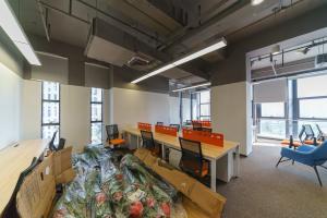 小型办公室 腾讯众创空间