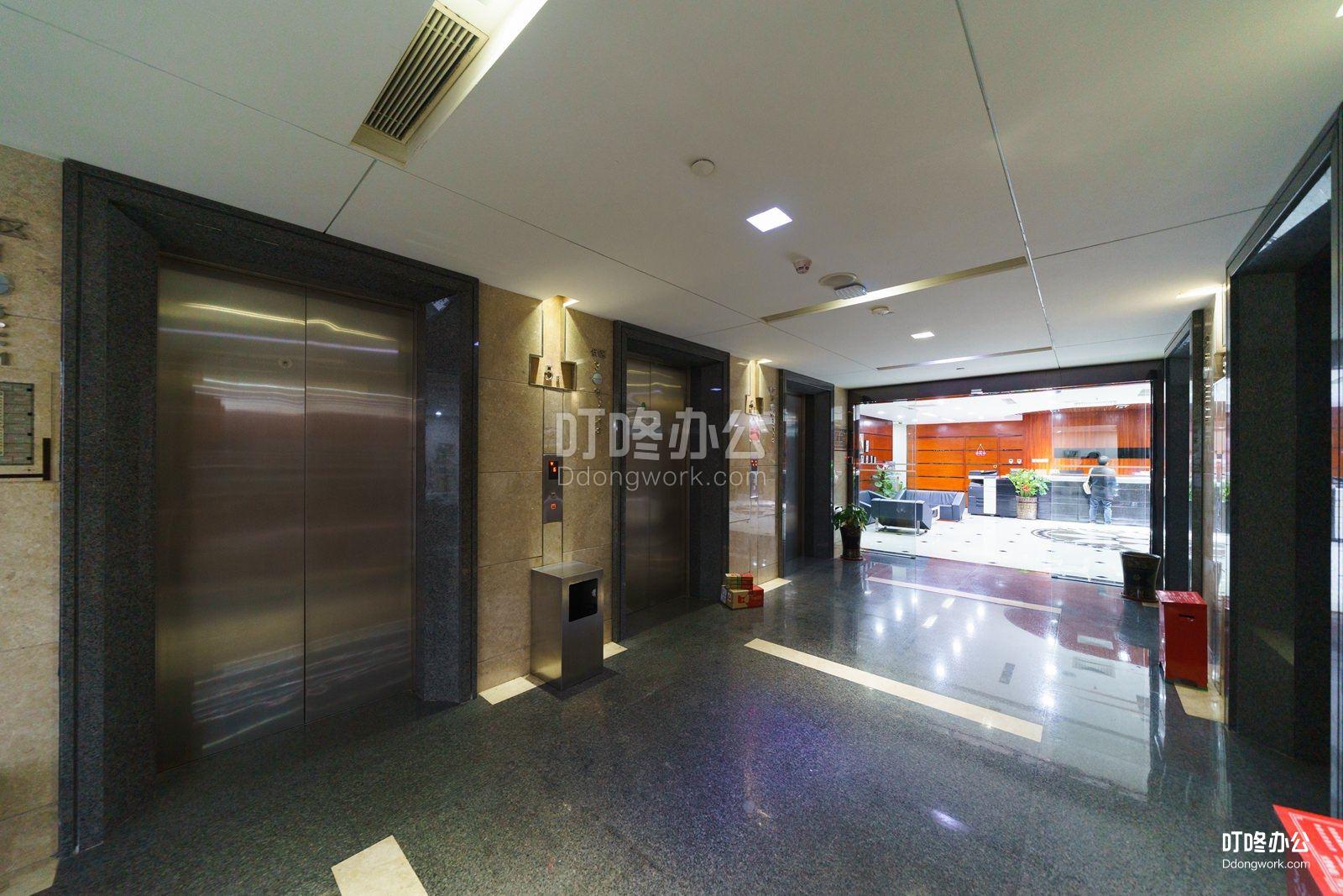 财富港商务空间走廊