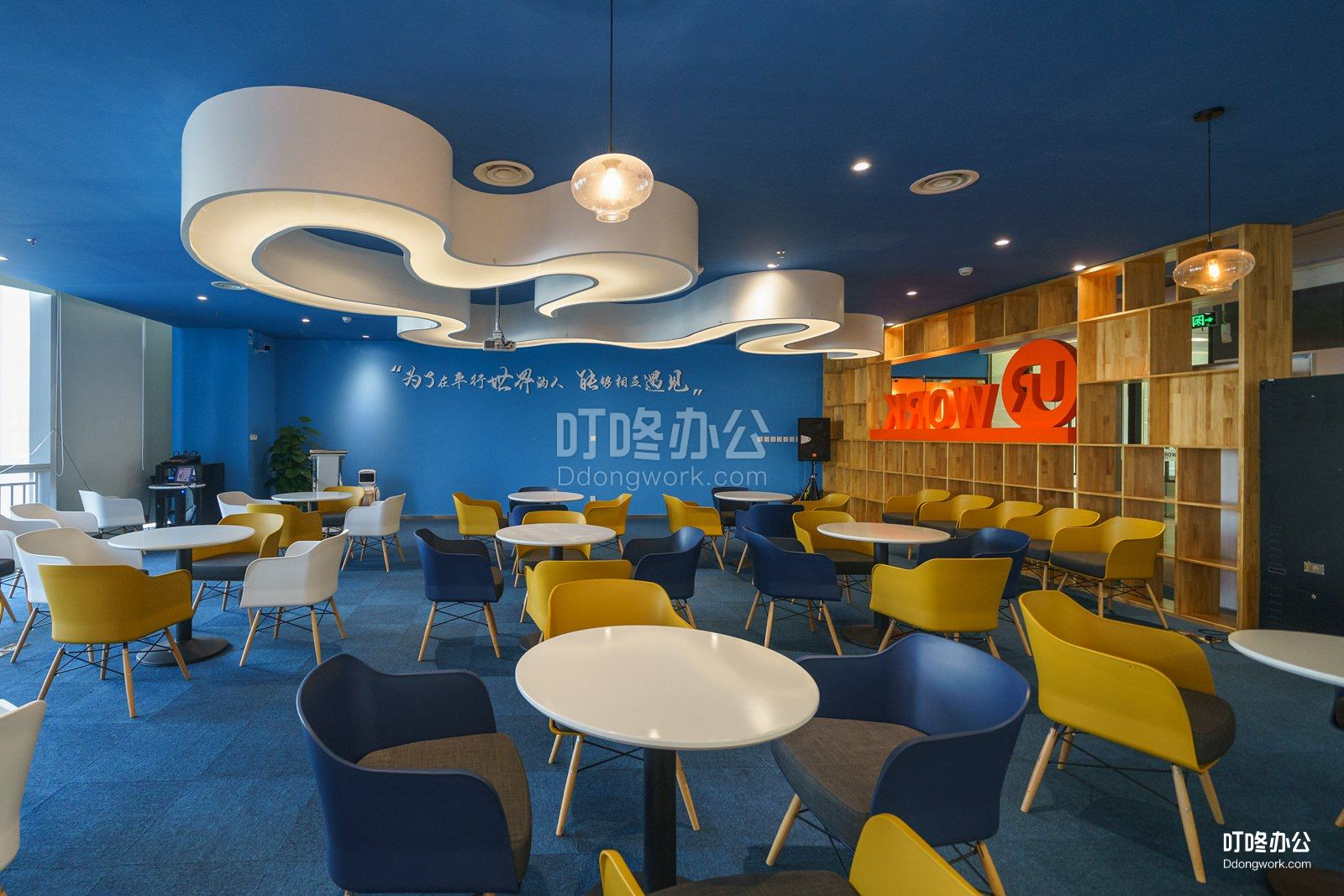 深圳阿里巴巴大厦•优客工场走廊