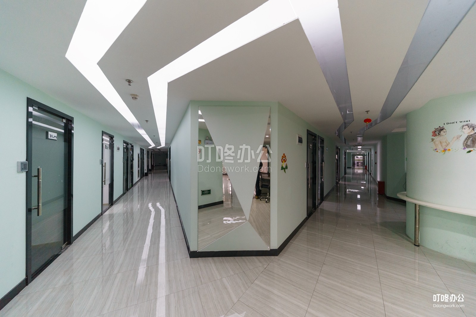 谷粒公社走廊