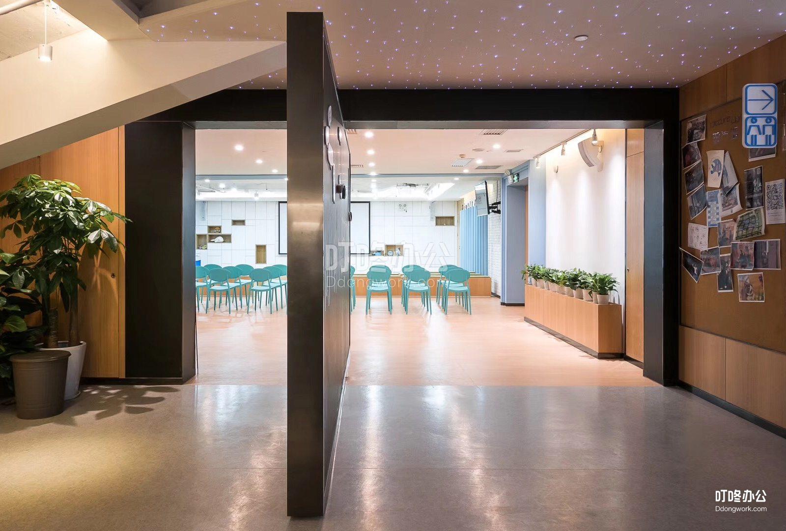 超大型办公室 特发信息科技大厦