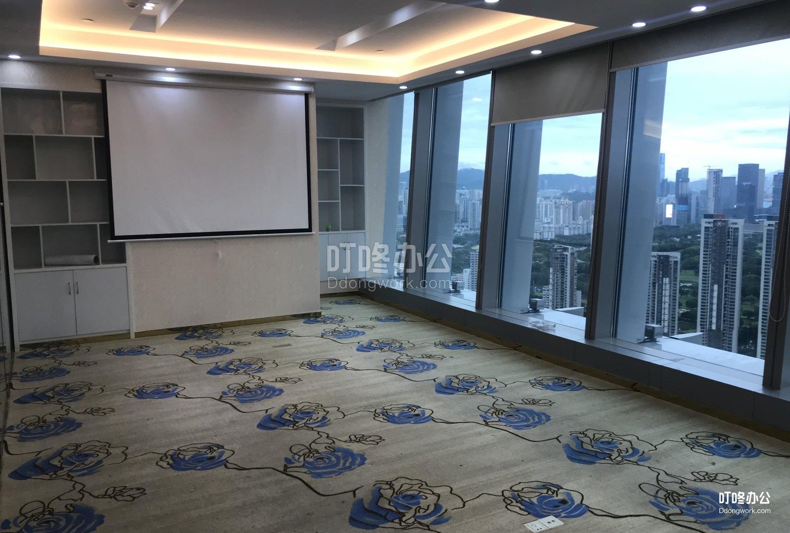超大型办公室 京基滨河时代广场