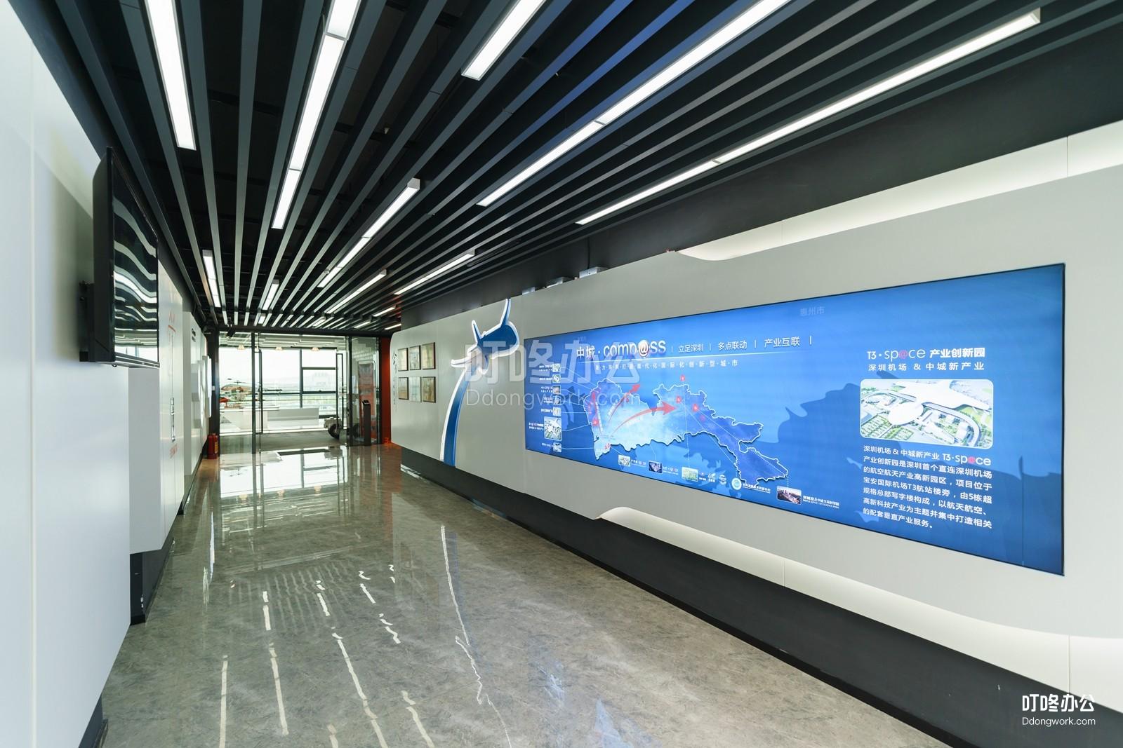 compass国际创新社区走廊