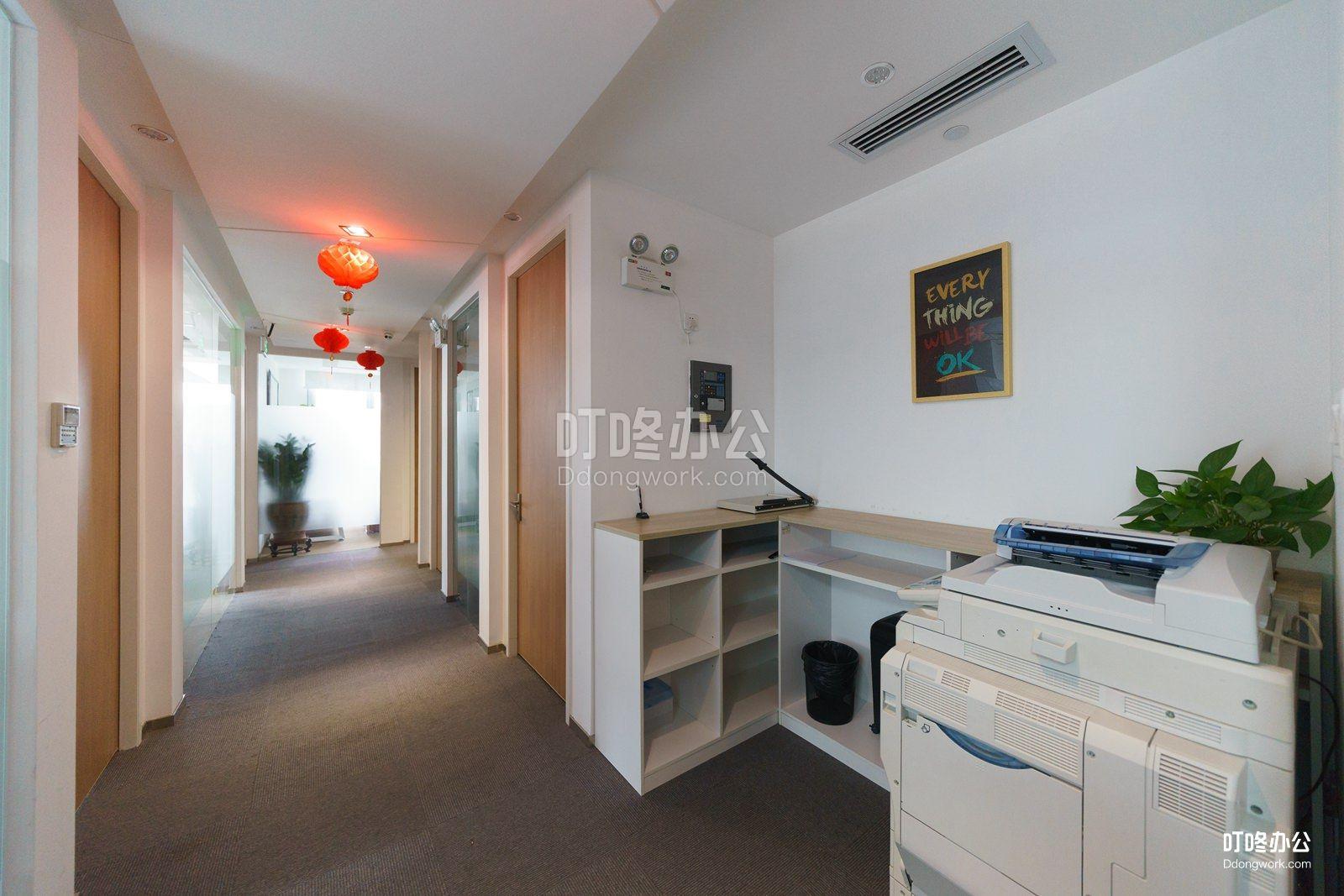 德冠廷服务式办公室走廊