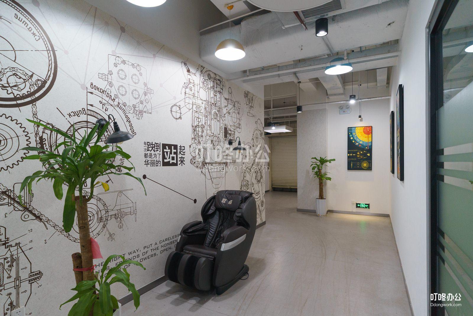 蓝马创业 · 蓝马智造园站走廊